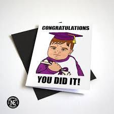 Baby Meme Fist - you did it fist pump baby meme graduation card nostalgia collect