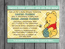 create winnie the pooh baby shower invitations free invitations