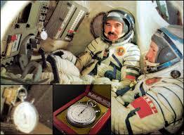 los relojes espaciales de las misiones sovieticas desde vostok 1