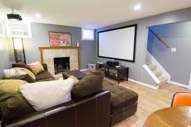 Steps To Finishing A Basement Media Room With Basement Finishing Services Everdry