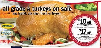 whole turkey for sale meijer turkey sale on sunday