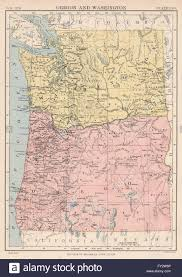 State Map Of Oregon by Map Of Oregon And Washington Geology