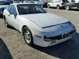 1987 porsche 944 sale 1987 porsche 944 for sale ca los angeles salvage cars