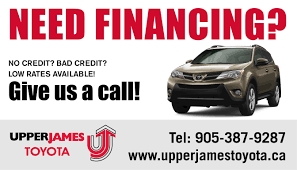 toyota canada finance contact fix my credit upper james toyota