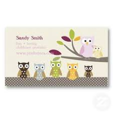 childcare business cards child care business card childcare business cards