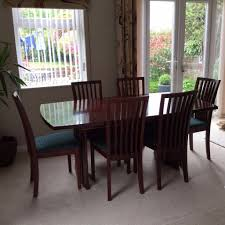 skovby rosewood dining table u0026 chairs in whitchurch cardiff