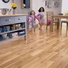 Laminate Flooring Direct Hillington Elka Rustic Oak Lacquered Solid Wood Flooring 34 43m2