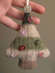 upcycled felted wool sweater christmas tree holiday pinterest
