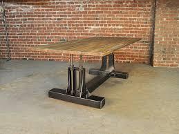 dining tables heavy duty steel table vintage industrial retro