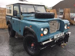 land rover overland 2017 1969 land rover series 3 88 county style diesel mot 16 11 2017