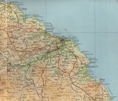 Map Of Yorkshire England by Whitby Map