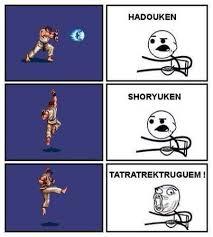 Hadouken Meme - tatsumakisempukiaku shoryuken hadouken know your meme