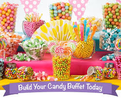 sweeten your party with a candy buffet dessert ideas