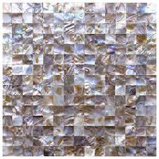 amazon com art3d mother of pearl backsplash wall tiles 12