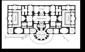 baths of caracalla floor plan fah207 roman final flashcards by proprofs