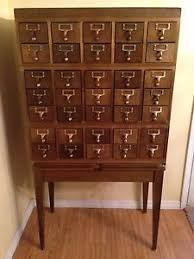 vintage library card catalog file by vidaliasvintage on etsy