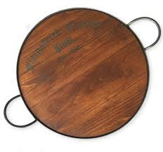 personalized trays personalized cask crown pub wood tray rustic wall co