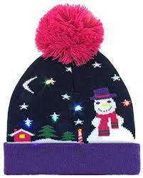 knit hat with led lights 65 best christmas hats stockings images on pinterest christmas