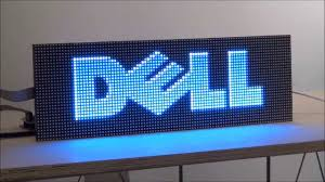 lighted message board signs digital led sign kit diy 5mm pixels full color programmable led
