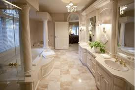 The Modern Bathroom Stone - Travertine in bathroom