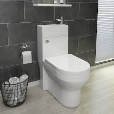 Space Saving Toilet Iconic Combined Two In One Wash Basin Toilet Modern Style