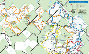 Map Of Denton County Lbj Grasslands Trail Maps Grasslands Gazettegrasslands Gazette