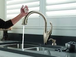 touch technology kitchen faucet kitchen 76 amazing kitchen faucets touch technology photos ideas
