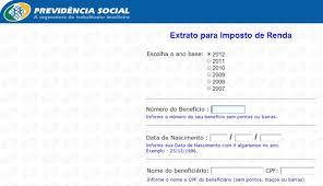 demonstrativo imposto de renda 2015 do banco do brasil inss extrato de imposto de renda