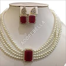 pearl ruby necklace images Ruby pearl indian jewelry best pearl 2017 jpg