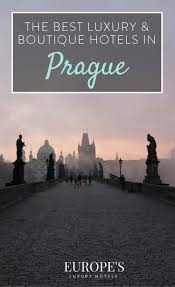 best luxury and boutique hotels in prague