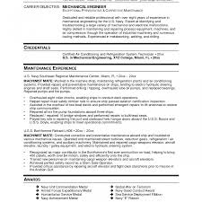 resume sle format pdf mechanical engineering resume format for fresher in word experienced