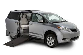 toyota vans toyota sienna vmi northstar e wheelchair vans mobility