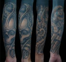 biomechanical skull by invisible nyc
