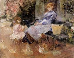 Beautiful Paintings By Berthe Morisot  Minute History - Berthe morisot in the dining room