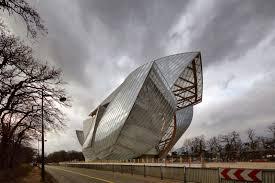 gehry frank louis vuitton foundation architecture sculpture
