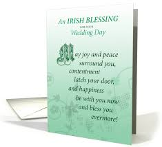 wedding blessing wedding day marriage blessing congratulations card 1043019