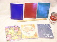 small photo albums 4x6 plastic slip in photo album ebay