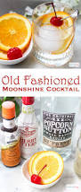 classic old fashioned cocktail phantom old fashioned recipe with moonshine u0026 spiced simple syrup
