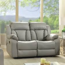 Microfiber Reclining Loveseat With Console Reclining Loveseats U0026 Sofas You U0027ll Love Wayfair