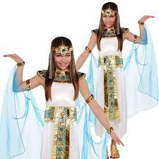 Mythical Goddess Girls Costume Girls Costume Girls Egyptian Queen Cleopatra Greek Goddess Toga Book Day Fancy