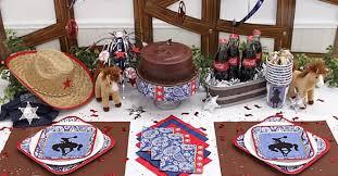 western decorations for birthday western supplies
