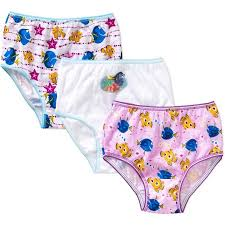 disney finding nemo dory toddler girls underwear 3 pack walmart