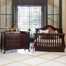 Sorelle Tuscany 4 In 1 Convertible Crib And Changer Combo by Million Dollar Baby 2 Piece Nursery Set Ashbury 4 In 1 Sleigh