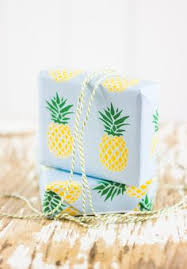 pineapple wrapping paper diy free printable pineapple wrapping paper whimseybox diy and