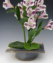 ikebana vase marty pottery