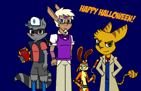 happy halloween from the sony heroes by abayx on deviantart