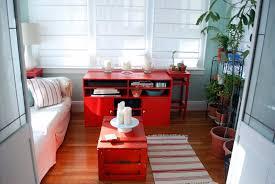 furniture killer living room interior decoration using red toy