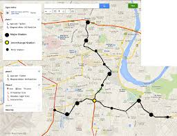 Bangalore Metro Map Phase 3 by Indian Mass Rapid Transit Systems Info New Proposals