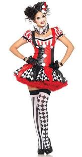 Masquerade Dresses Halloween Costume Women Halloween Costumes Clown Dress Clown Suit Dresses
