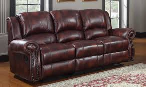 Microfiber Reclining Sofa Homelegance Quinn Reclining Sofa Burgundy Polished